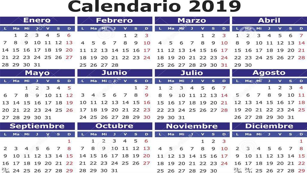 Calendario Laboral 2019 Andalucia.El Calendario Laboral De 2019 Tendra 8 Festivos Con Dos Puentes